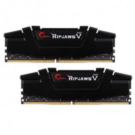 رم دسکتاپ DDR4 دو کاناله 3200 مگاهرتز CL16 جی اسکیل Ripjaws V ظرفیت 32 گیگابایت