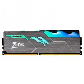 رم دسکتاپ DDR4 تک کاناله 3200 مگاهرتز CL17 کینگ مکس Zeus Dragon RGB ظرفیت 16 گیگابایت