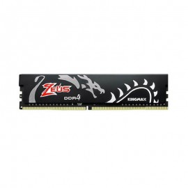 رم دسکتاپ DDR4 تک کاناله 3000 مگاهرتز CL17 کینگ مکس Zeus Dragon ظرفیت 8 گیگابایت
