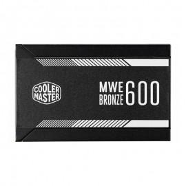 منبع تغذیه کامپیوتر کولر مستر MWE Bronze 600