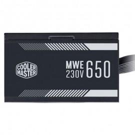 منبع تغذیه کامپیوتر کولر مستر MWE White 650