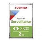 هارددیسک اینترنال توشیبا S300 Surveillance ظرفیت 2 ترابایت