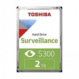 هارد دیسک اینترنال توشیبا Surveillance S300 ظرفیت 2 ترابایت