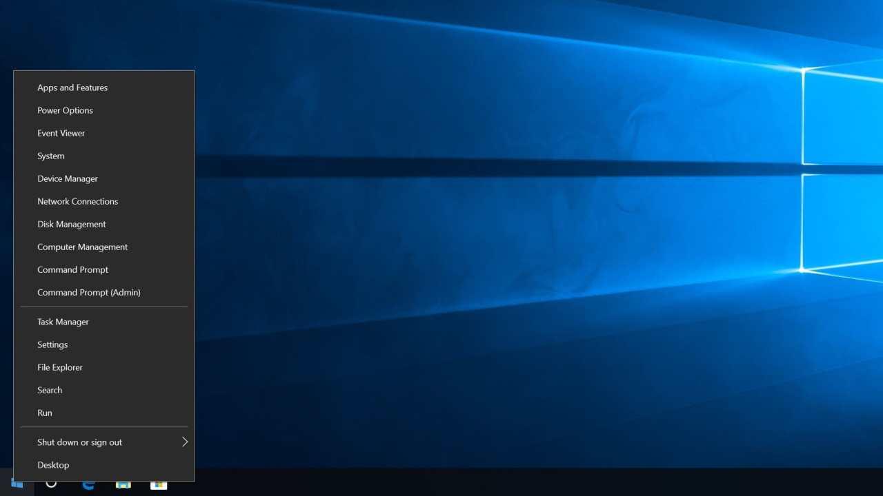 چطور به منوی مخفی Power User ویندوز ۱۰ دسترسی پیدا کنیم؟